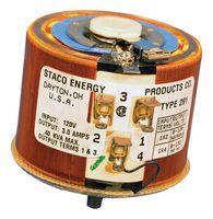 291-Staco291-Stacovariabie Transformer Singlephase 0-120/0-132v 50/60 Hertz3a 0.40 Kva