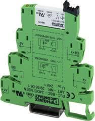 29661712966171 Plc Relay Screwconnection Pluggable Minirelay W/ Power Contact Fordin Rail Ns 35/7.5 Rohs