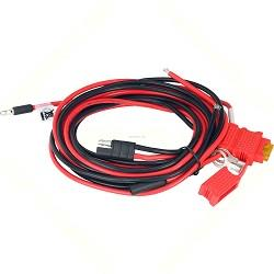 Hkn4191bmotorola Hkn4191b Powermobile Cable To Battery 12v20 Amp For High Power (40-60w)