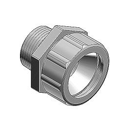25462546 Liquidtight Strain ReliefCord Connector Range .750-.8751in. Straight Die Cast ZincRoHS