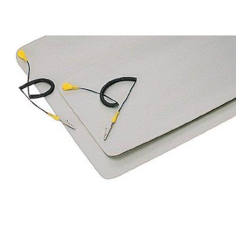 """900-114900-114 Electro-StaticDischarge Static ProtectionMat 3mm Thickness 24"""" x 48""""With Ground Strap"""