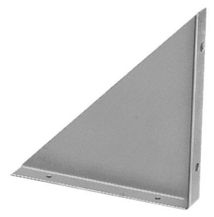 """mb-1266Bud MB-1266 TriangularMounting Bracket 0.75"""" FlangesSupport Chassis Sold in Pairs5"""" x 5"""" 0.50LB RoHS"""