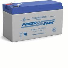 ps-1270PS-1270 Sealed Lead AcidBattery Rechargeable; 12 V; 7 Ah Spill-Proof;ABS Case; AGM f1 terminals